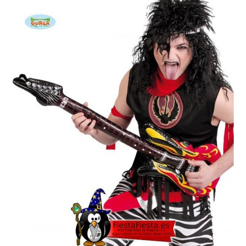 Guitarra Electrica Hinchable Disfraz