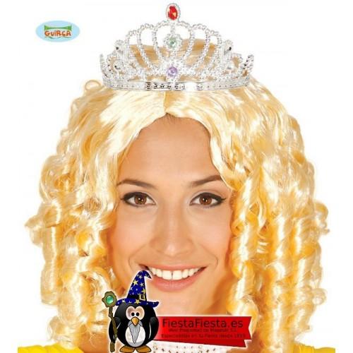 Diadema Princesa Plata