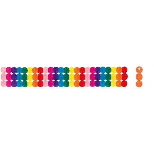 Guirnalda Multicolor Ancha 4 Metros
