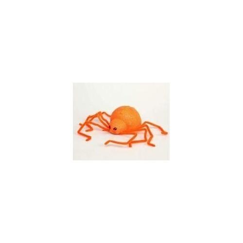 Araña  Purpurina 30cms Naranja
