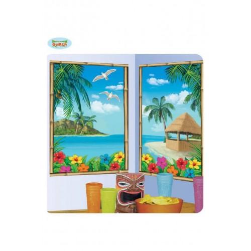 2 Poster Decorativo Hawai 75cm x 120cm