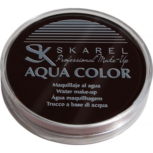 Maquillaje Aqua Color Amarillo