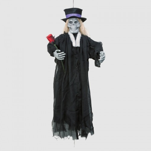 Esqueleto novio colgante, 90 cm.