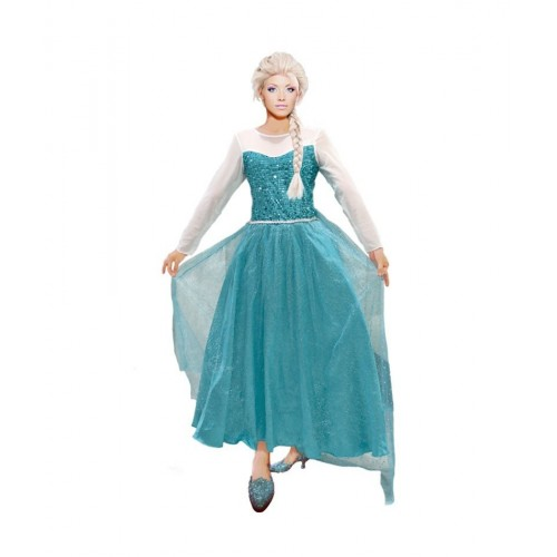 Princesa Froozen Disfraz