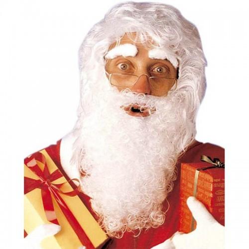 Peluca Y Barba Papa Noel Mediana