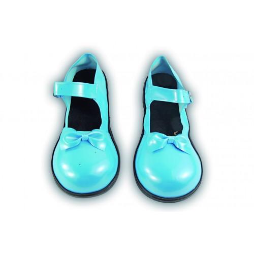Zapato Payaso Azul o Rosa Lazo