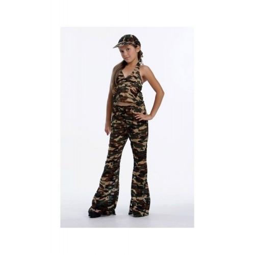 Disfraz Camuflage Niña