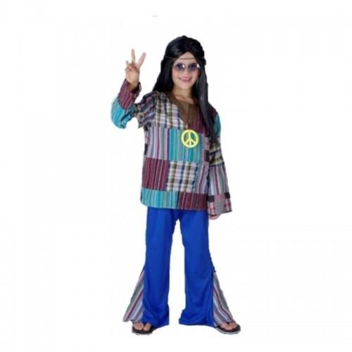 Disfraz Hippie Patchwork Chico
