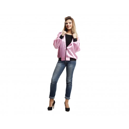 Chaqueta Rockera Pink Lady Adulto