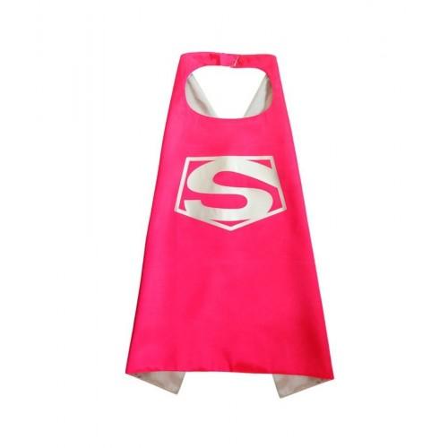 Capa Super Heroe Rosa