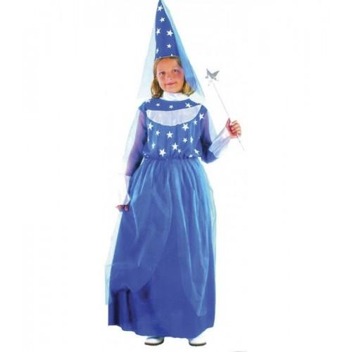 Disfraz Hada Azul Estrellas