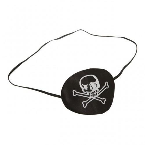 Parche Pirata Piel Negra