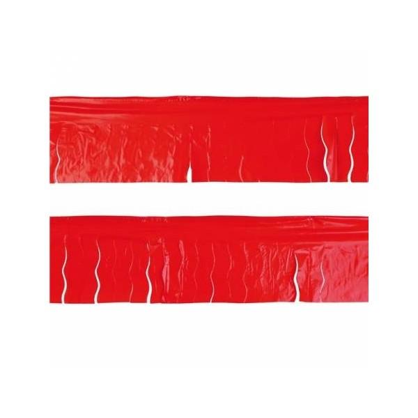 Fleco Plastico Rojo 25 metros