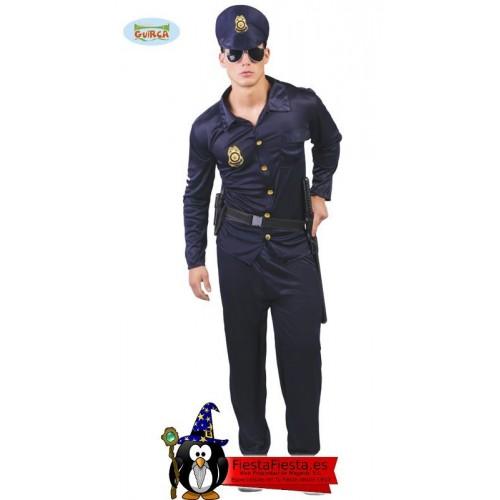 Disfraz Policia Americano Adulto