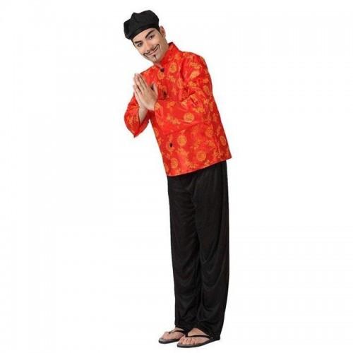 Disfraz Chino Rojo Dragon