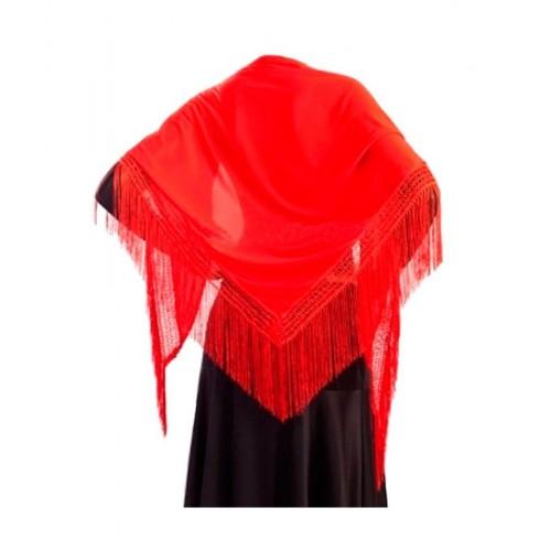 Manton Sevillana Rojo Grande