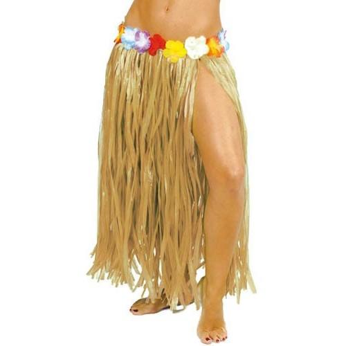 Falda hawaiana natural