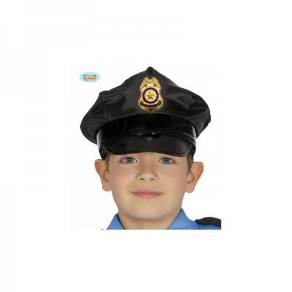 Gorra Policia Infantil