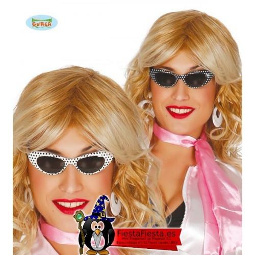 Gafas Pin Up Grease Chica años 50 60
