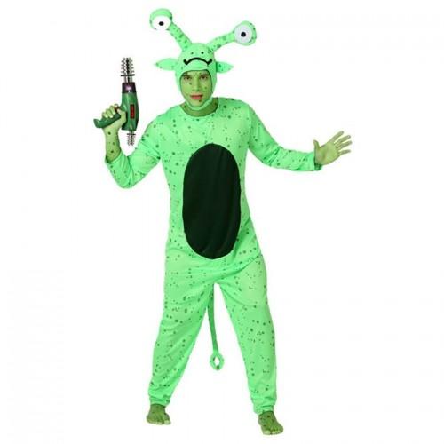 Disfraz Alien Verde ML