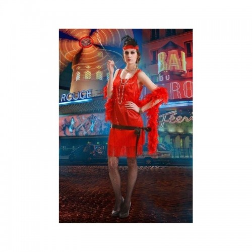 Disfraz Charleston Rojo Talla ML
