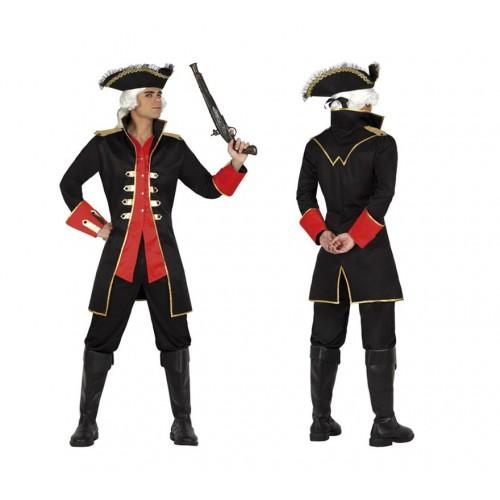 Casaca Negra tipo Pirata ML