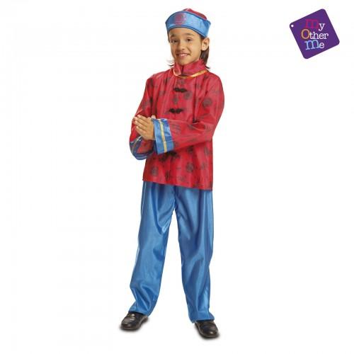 Disfraz Chino Azul niño