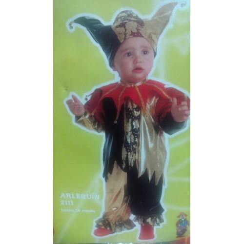 Disfraz Arlequin 6 a 18 meses