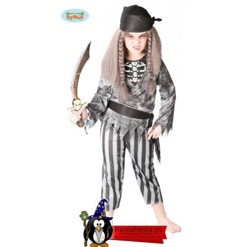 Disfraz Pirata fantasma infantil