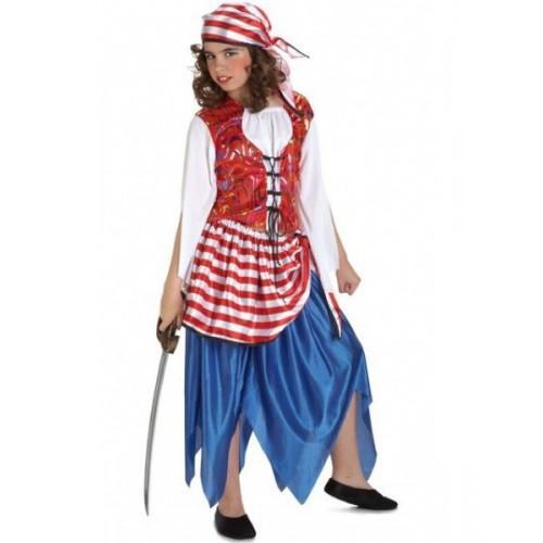 Pirata Chica Azul 5 a 6