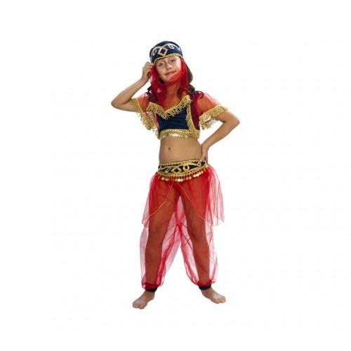 Disfraz Bailarina Arabe Roja