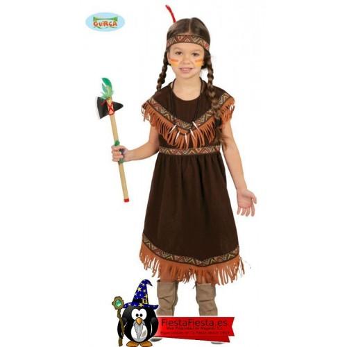 disfraz india niña infantil