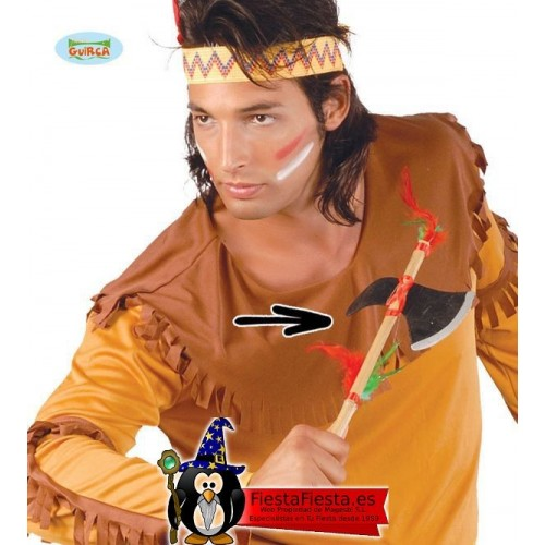 Hacha de indio madera Disfraz