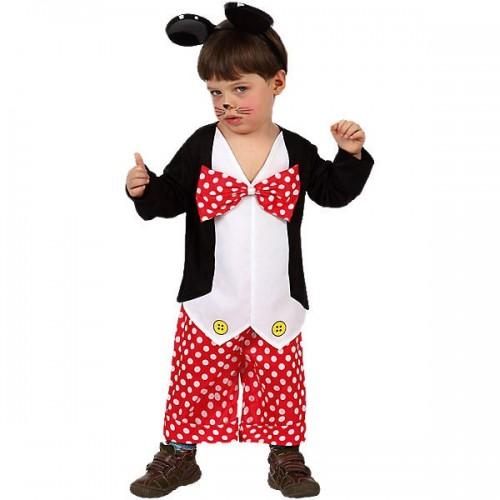 Disfraz Ratoncito Tipo Mickey 1 a 2