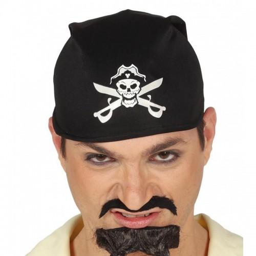 Pañuelo Pirata Negro