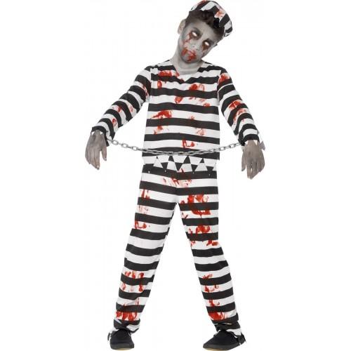 Disfraz Preso Zombie niño