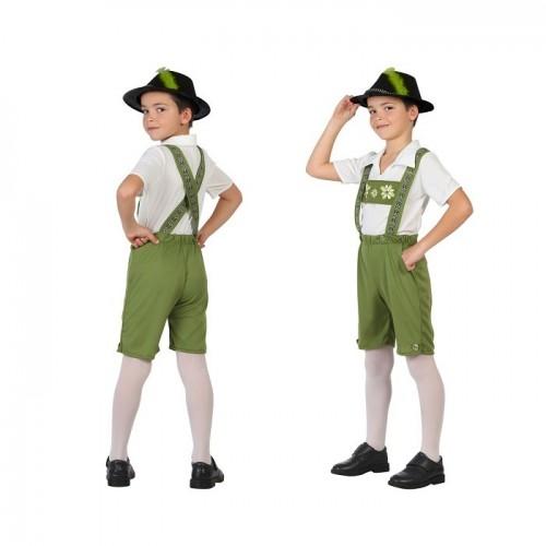 Disfraz Tiroles Verde 7 a 9