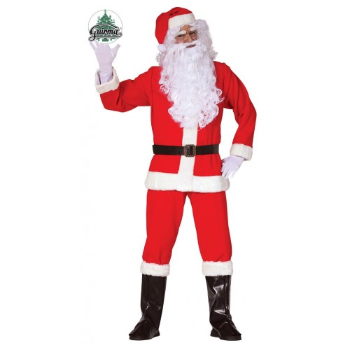 Disfraz Papa Noel Profesional Completo