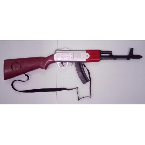Metralleta Ak 47 plastico con sonido