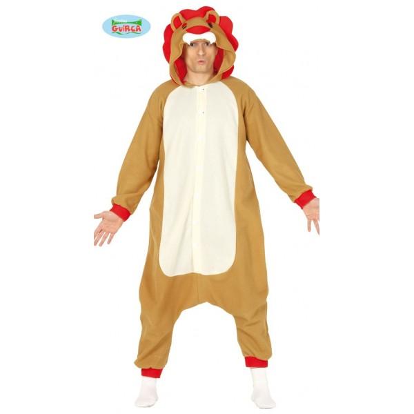 Disfraz Leon tipo Pijama ML