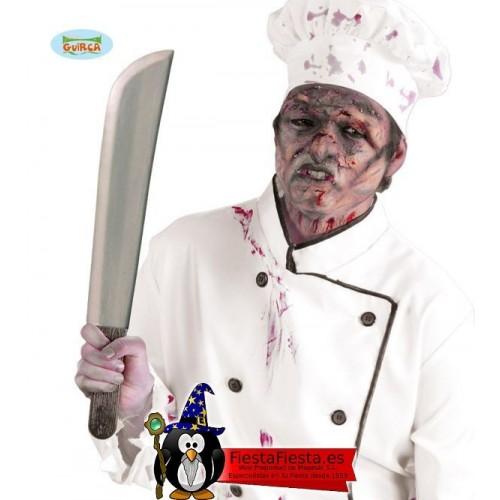Machete Asesino cuchillo plastico halloween