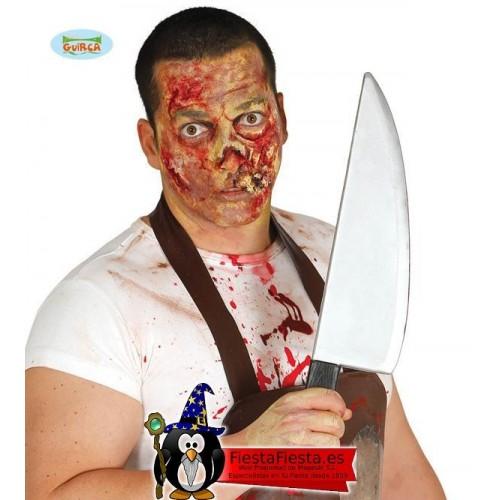 Cuchillo Plastico Arma Asesino