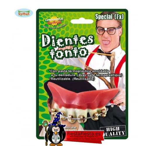 Dientes Hierro Con Pasta Termoplastica