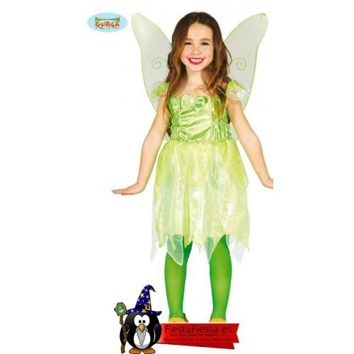 Disfraz Hada Verde Niña Campanilla