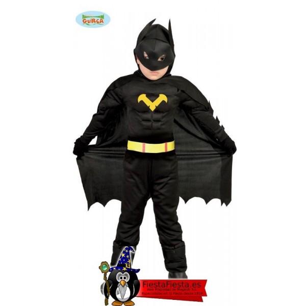 Black Hero Infantil Talla 7-9 Años