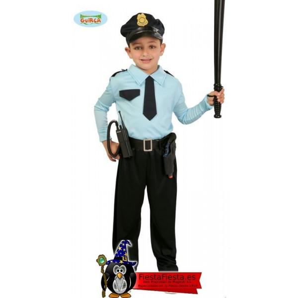 Policia Infantil Talla 10-12 Años