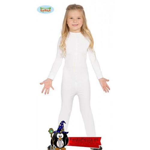 Maillot Infantil Blanco 5-8 Años (Super-Elastico)