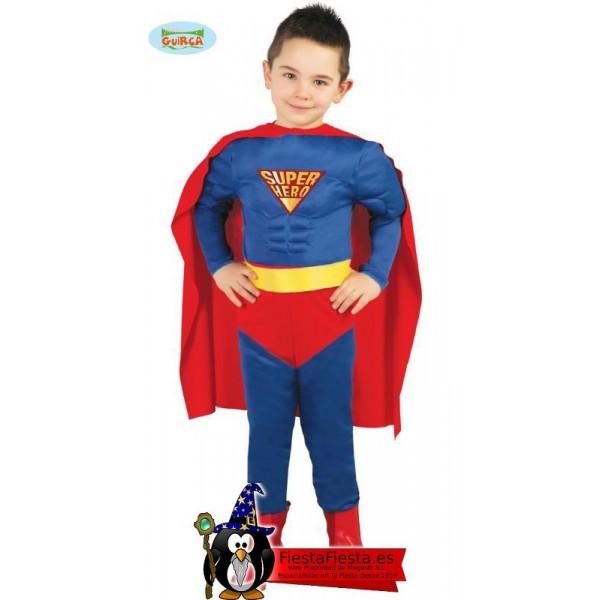 Muscle Hero Infantil Talla  3-4 Años