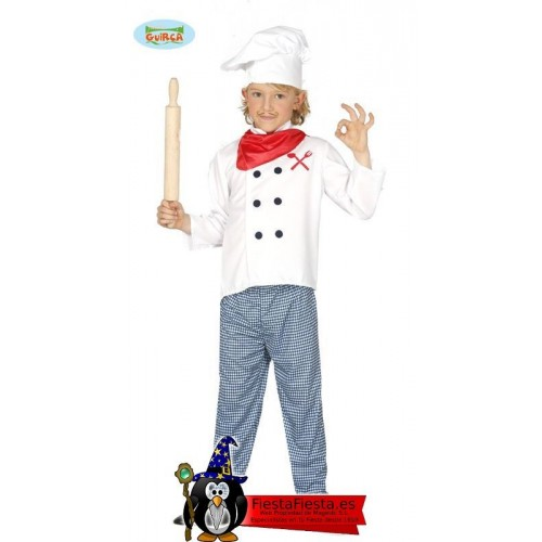 Cocinero Infantil 10-12 Años
