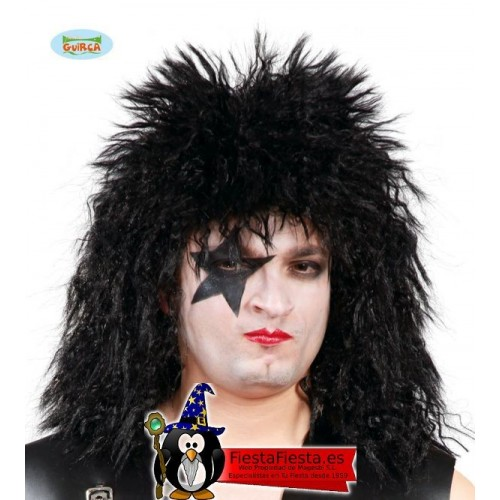 Peluca Rockero Kiss